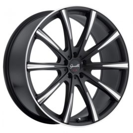 22″ Gianelle Staggered Wheel & Pirelli Tire Package for Model X