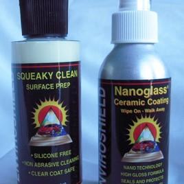 "#1160 ""Squeaky Clean"" & NanoGlass Sealant"