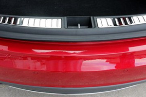 Chrome Rear Trunk Door Sill Plates (In Stock)