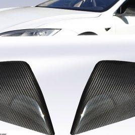 Gloss Finish Carbon Fiber Mirror Covers