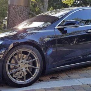 M621 Dark Grey Brushed Grigio 20 inch Model S