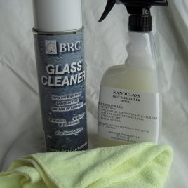 Glass Cleaning Kit and Protectant