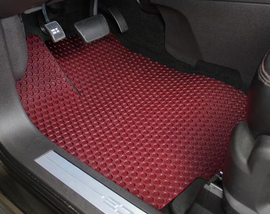 All Weather Floor Mats For Tesla Model X 5 Seat